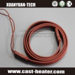 flexible rubber silicone belt pipe heater