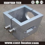 Industrial cast in heaters