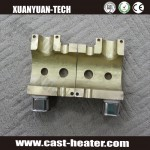 Casting copper heating elements