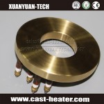Die Cast Bronze Electric Heater