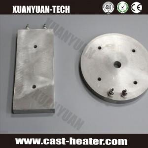 Round casting aluminum hot plate