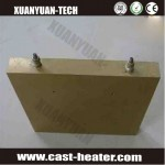 Brass and copper Cast Heater