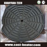 Teflon coating casting heating elements