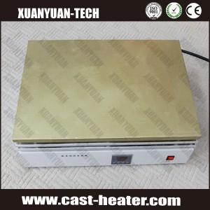Laboratory copper heating plate
