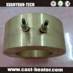 Electric die casting brass heater