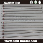 stainless steel tube immersion heater