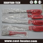 120V single end tubular heater rod