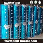Extruder heater aluminum die casting heaters