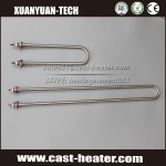 Industrial stainless steel electric tubular heater