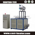 PID controller electrical horizontal thermal oil heater