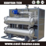 380V 25KW automatic horizontal thermal oil heater