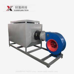 Electric air duct heaters