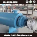 finned tubular hot air duct heater
