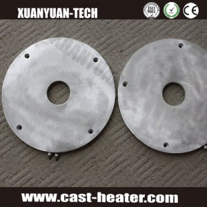 aluminum casting heaters plate with centre hole
