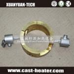 Industrial brass cast-in heaters
