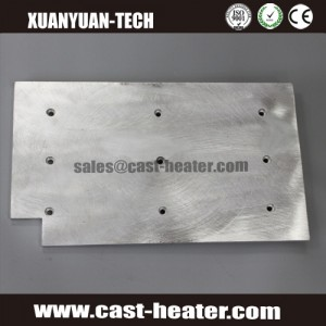 electric element die cast-in aluminium heater