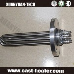 tube heater ss304 water flange heater