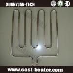 W shape SS flange heater